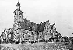 Das Neustädt'sche Rathaus zu Brandenburg